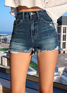 Toss High West Shorts (Light blue / Jincheng)